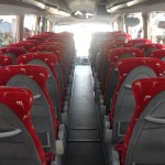 Anchor Tours: 59 Seater Scania PB interior